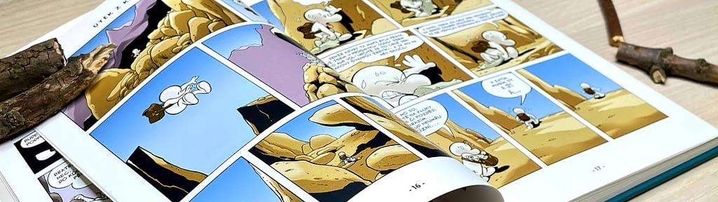 Recenze - komiks Kůstek - napínavé a vtipné