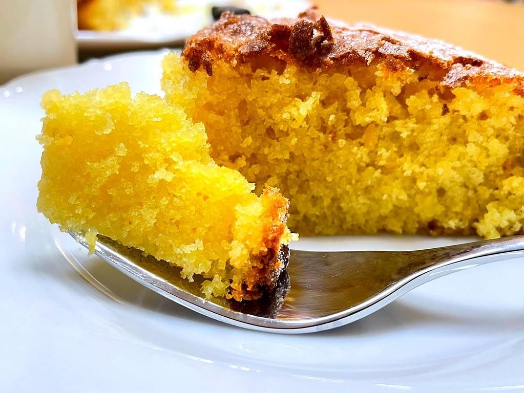 Mandarinkový koláč - blaho a nádherná barva