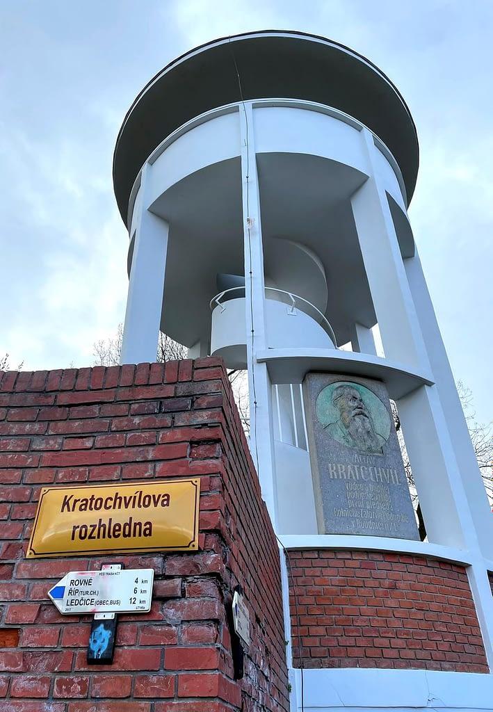 Kratochvílova rozhledna Roudnice nad Labem, Výstup na nejníže položenou rozhlednu