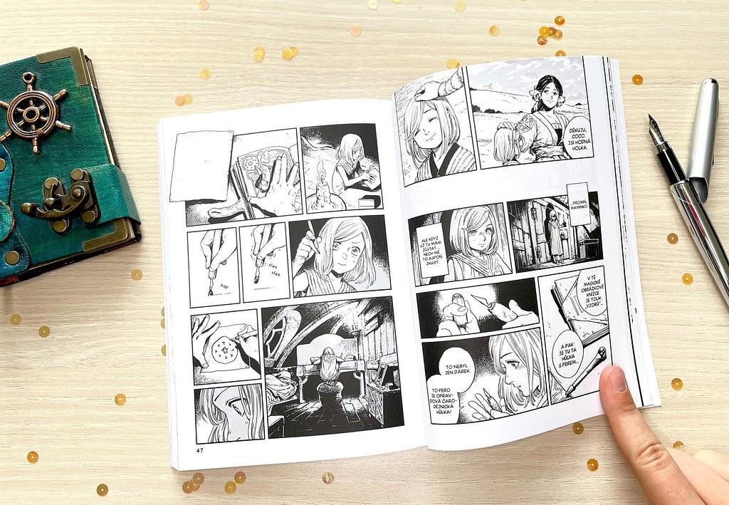 komiks kniha manga recenze