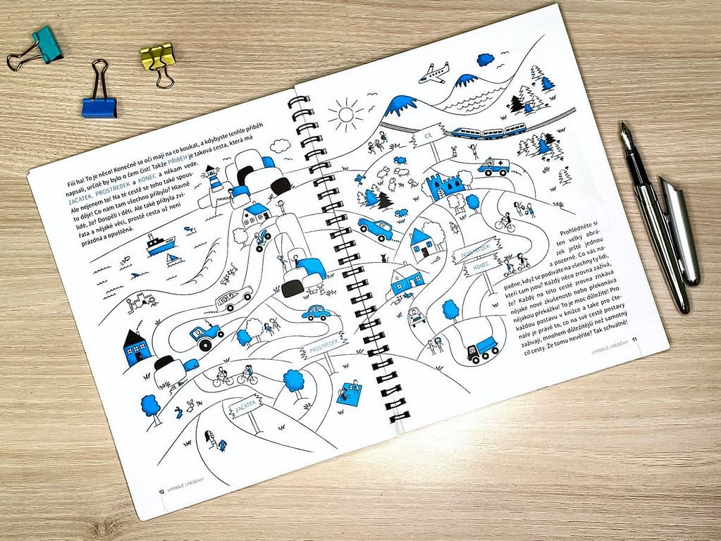 kniha Vyprávěj příběh, Recenze knihy - Vyprávěj příběhy! Plus super SOUTĚŽ
