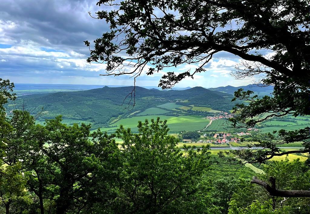 Výhled z Lovoše