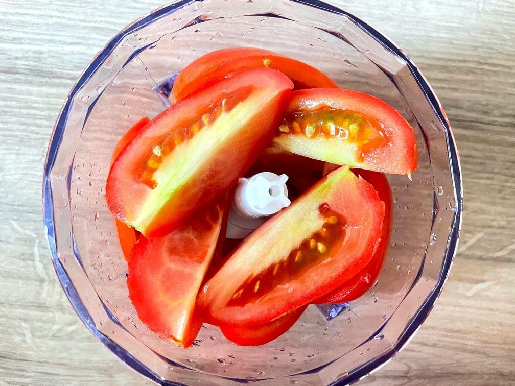 Pokrájená rajčata