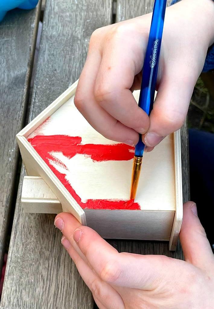 malujeme kasičky, Domečky na penízky pro šetřivé dětičky