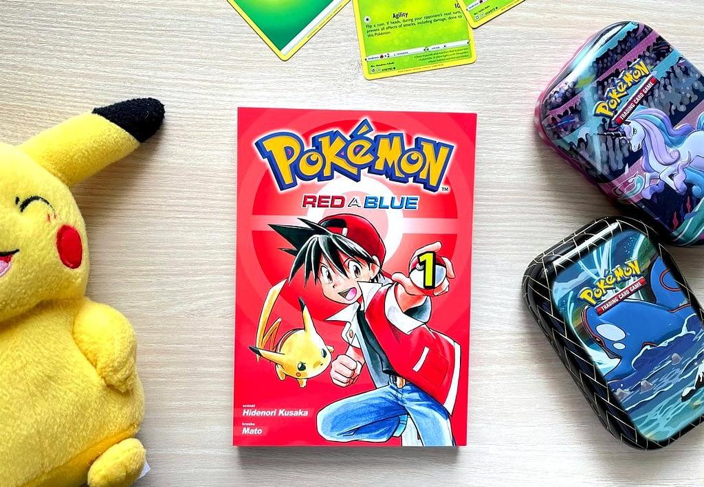 kniha Pokémon 1., recenze, manga, karty, Pikachu